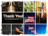 Memorial Day Collage PowerPoint Template#20