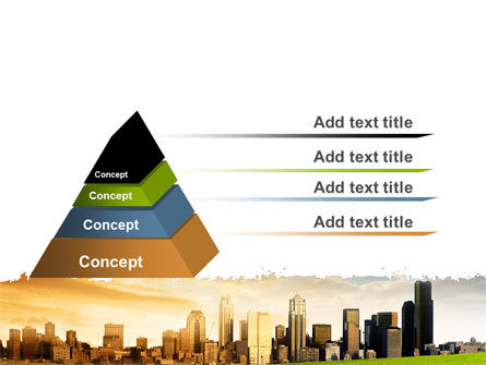 Bad Ecology City PowerPoint Template, Slide 4, 06687, Nature & Environment — PoweredTemplate.com