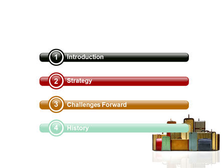 Luggage PowerPoint Template, Slide 3, 06688, Careers/Industry — PoweredTemplate.com