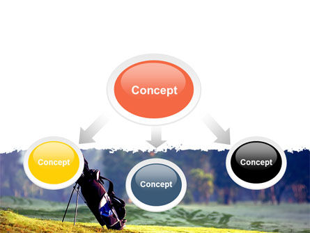 Golf Field PowerPoint Template, Slide 4, 06689, Sports — PoweredTemplate.com