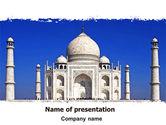 Religious/Spiritual: Modelo do PowerPoint - indian taj mahal #06690