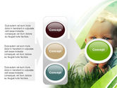Smiling Baby PowerPoint Template#11