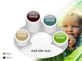 Smiling Baby PowerPoint Template#12