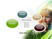 Smiling Baby PowerPoint Template#16