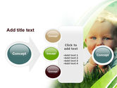 Smiling Baby PowerPoint Template#17