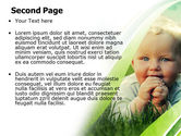 Smiling Baby PowerPoint Template#2