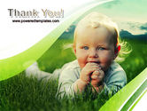 Smiling Baby PowerPoint Template#20