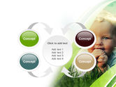 Smiling Baby PowerPoint Template#6