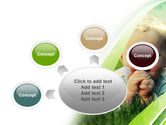 Smiling Baby PowerPoint Template#7
