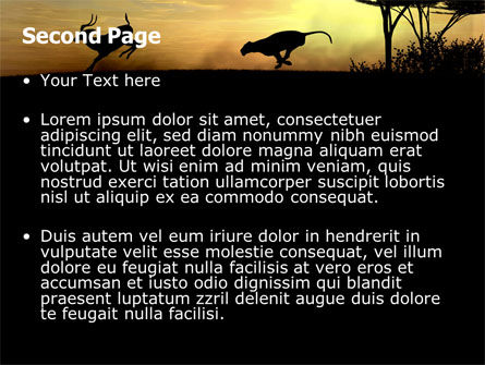 Wild Hunt PowerPoint Template, Slide 2, 06699, Animals and Pets — PoweredTemplate.com