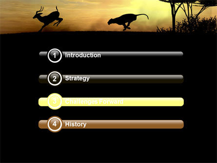 Wild Hunt PowerPoint Template, Slide 3, 06699, Animals and Pets — PoweredTemplate.com