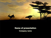 Animals and Pets: Wild Hunt PowerPoint Template #06699