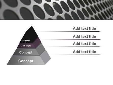 Perforated Metal PowerPoint Template Slide 4