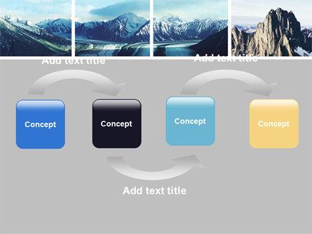 Mountain Scene PowerPoint Template, Slide 4, 06702, Nature & Environment — PoweredTemplate.com
