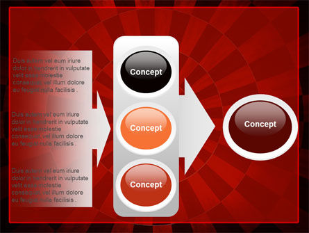 Circular Chess Pattern PowerPoint Template Slide 11