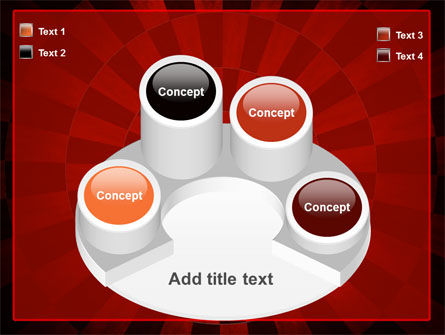 Circular Chess Pattern PowerPoint Template Slide 12