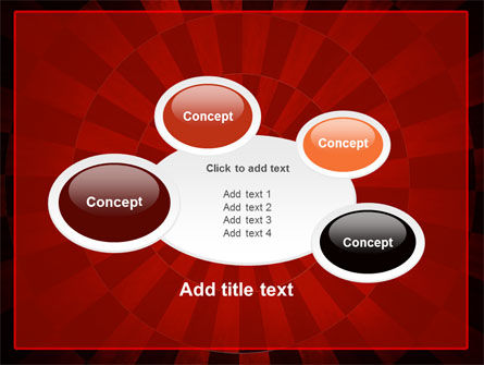 Circular Chess Pattern PowerPoint Template Slide 16
