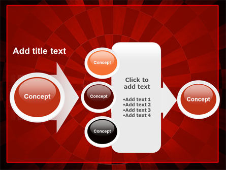 Circular Chess Pattern PowerPoint Template Slide 17