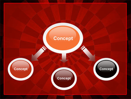 Circular Chess Pattern PowerPoint Template Slide 4