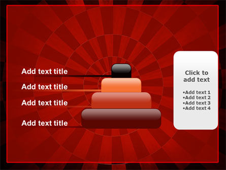 Circular Chess Pattern PowerPoint Template Slide 8