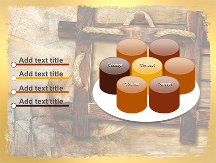 Wooden Frame PowerPoint Template Slide 12