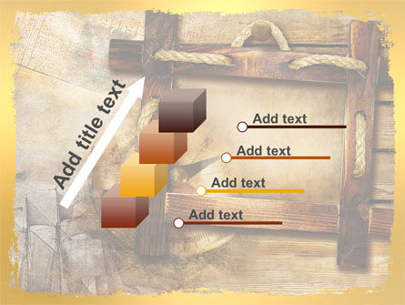 Wooden Frame PowerPoint Template Slide 14