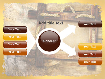 Wooden Frame PowerPoint Template Slide 15