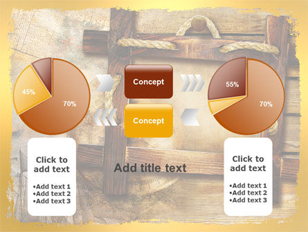 Wooden Frame PowerPoint Template Slide 16