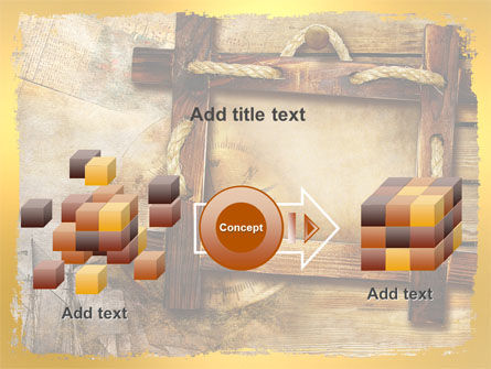Wooden Frame PowerPoint Template Slide 17