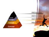 Jumper On Sunset PowerPoint Template#4