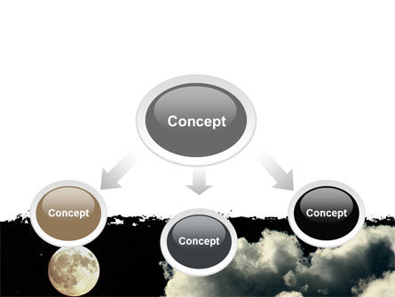 Full Moon PowerPoint Template, Slide 4, 06713, Nature & Environment — PoweredTemplate.com