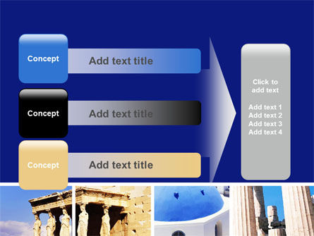 Greek Churches PowerPoint Template Slide 12