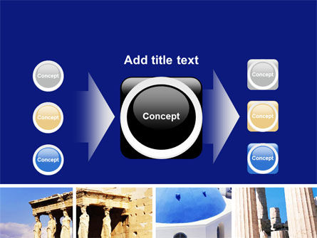 Greek Churches PowerPoint Template Slide 17