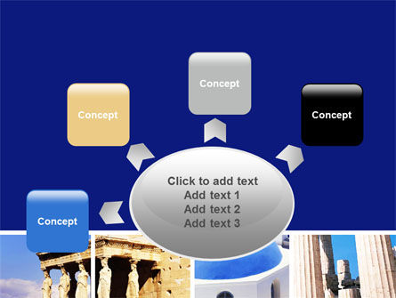 Greek Churches PowerPoint Template Slide 7