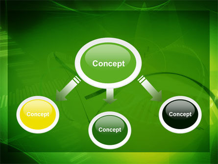 Abstract Green Free PowerPoint Template, Slide 4, 06720, Technology and Science — PoweredTemplate.com
