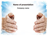 Religious/Spiritual: Heaven Light PowerPoint Template #06721