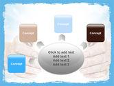 Heaven Light PowerPoint Template#7