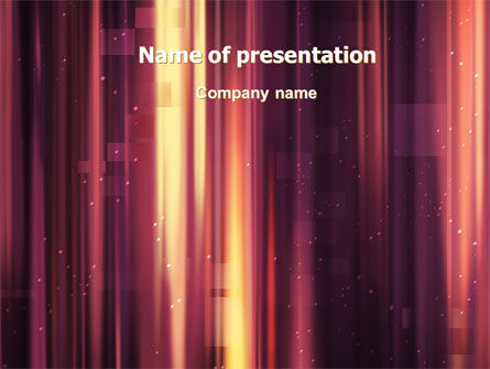Abstract/Textures: Crimson Folds Abstract PowerPoint Template #06722