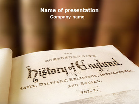 Free History Of England PowerPoint Template