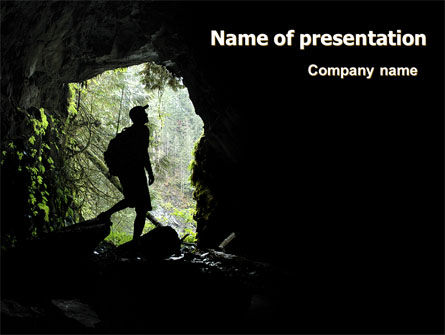 Caver PowerPoint Template