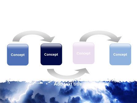 Royal Blue Sea PowerPoint Template, Slide 4, 06725, Nature & Environment — PoweredTemplate.com