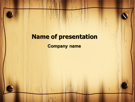 Abstract/Textures: Clear Board Theme PowerPoint Template #06726