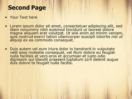 Clear Board Theme PowerPoint Template Slide 2