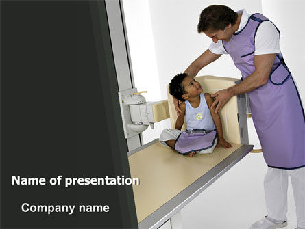 Medical: Tomography PowerPoint Template #06730