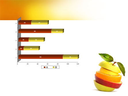 Cut Apple PowerPoint Template Slide 11