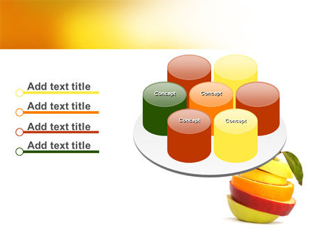 Cut Apple PowerPoint Template Slide 12