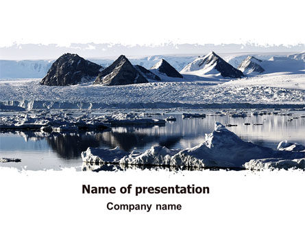 Arctic Free PowerPoint Template, 06733, Nature & Environment — PoweredTemplate.com