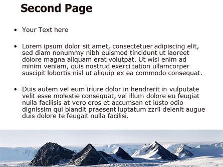 Arctic Free PowerPoint Template, Slide 2, 06733, Nature & Environment — PoweredTemplate.com
