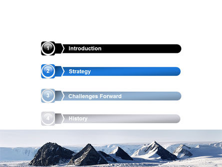 Arctic Free PowerPoint Template, Slide 3, 06733, Nature & Environment — PoweredTemplate.com
