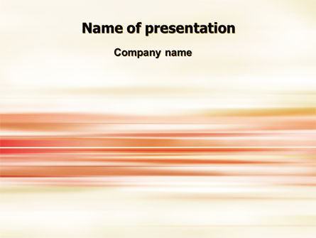 Abstract/Textures: Pastel Lines PowerPoint Template #06734